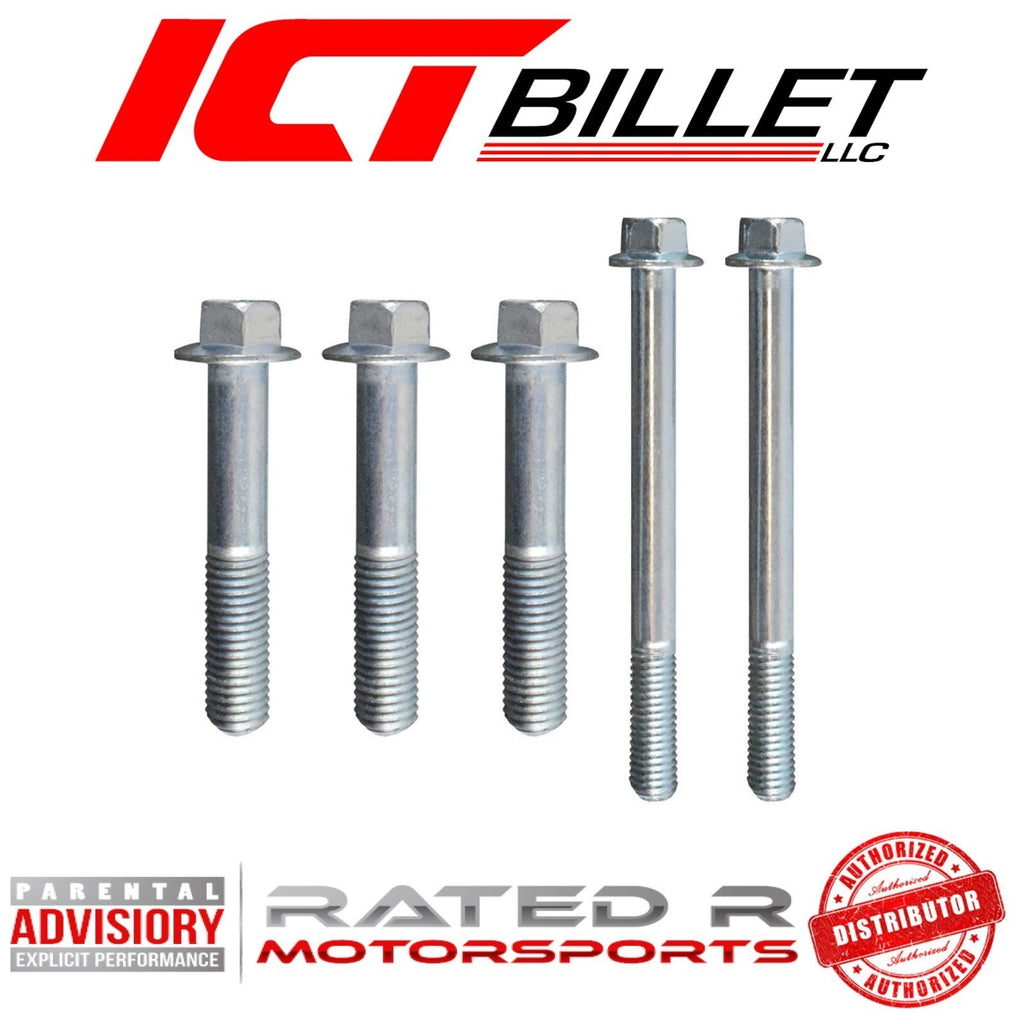 ICT Billet LS3 Power Steering Pump Bracket BOLT KIT ONLY