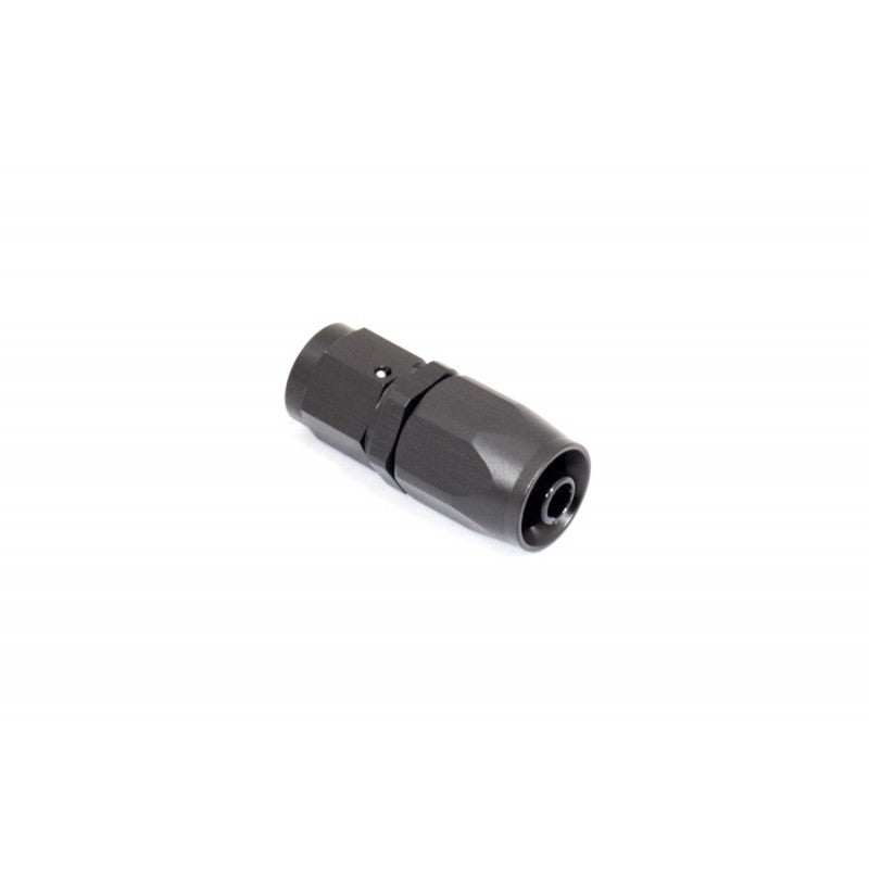 BTR AN Fitting Straight -8AN Hose End Black