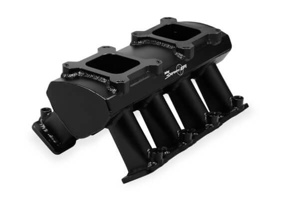 Holley LS3 Sniper 2 x 4150 Sheet Metal EFI Intake Manifold Black