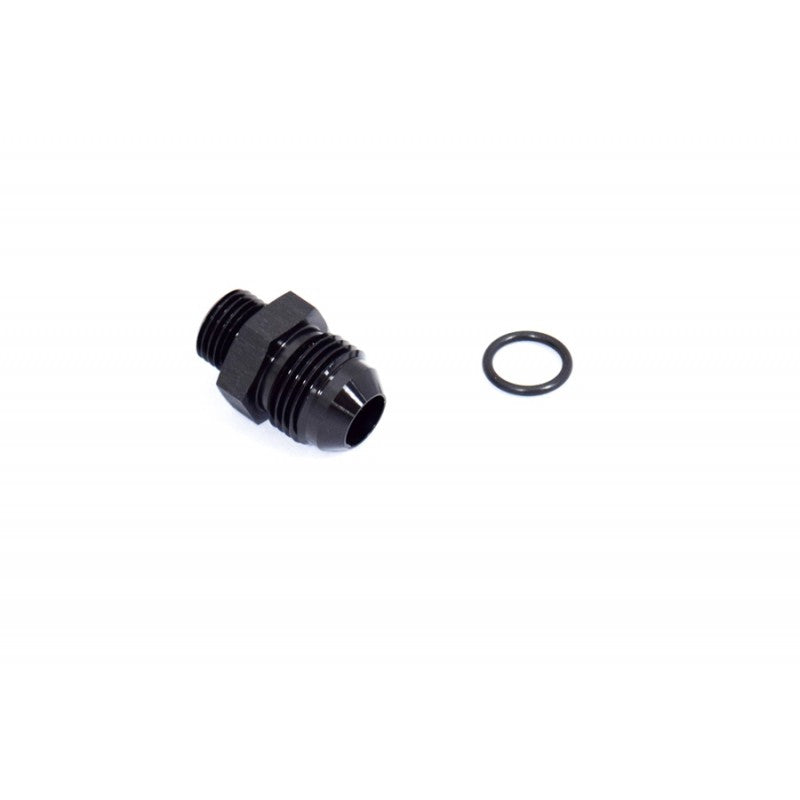 BTR AN to ORB Adapter Fitting -6 ORB to -8AN Black