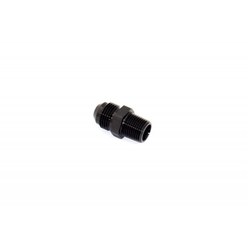 "BTR AN Adapter Fitting -8AN TO 3/8"" NPT Black"
