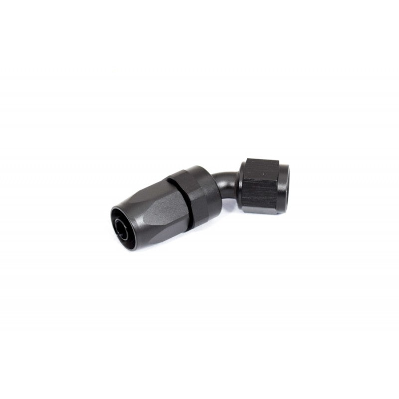 BTR AN Fitting 45° -8AN Hose End Black