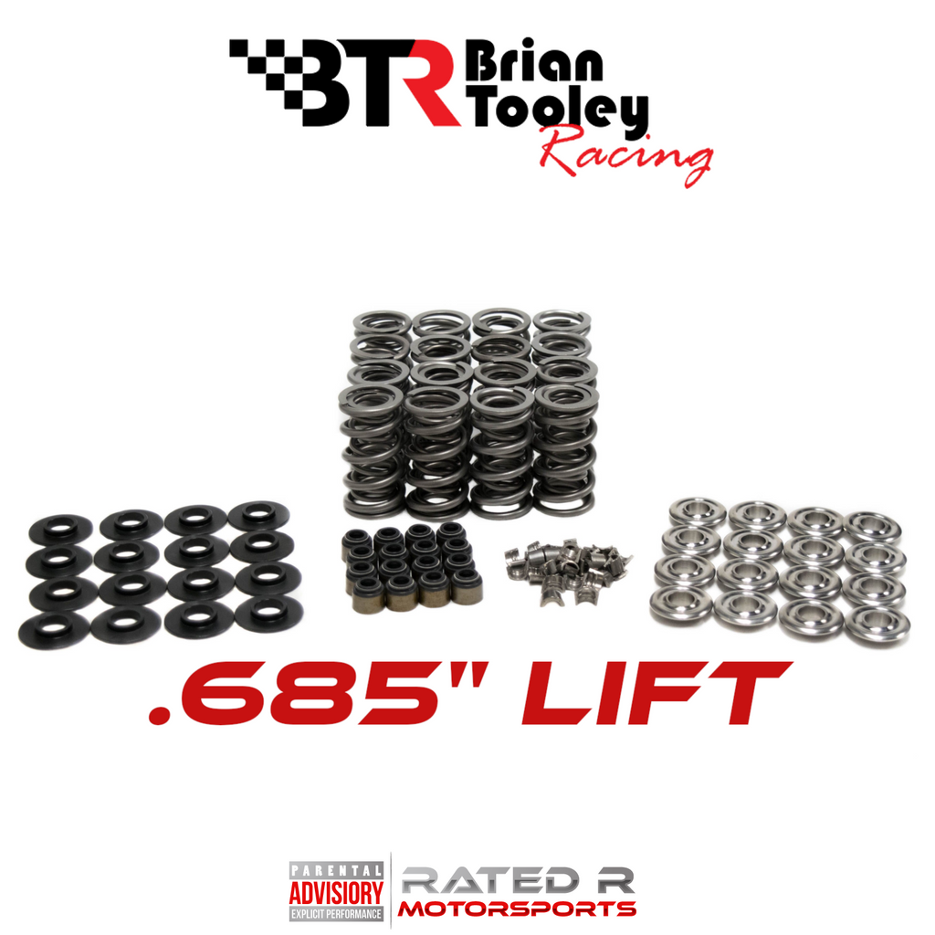 "BTR LS .685"" High Lift Dual Valve Spring Complete Kit"