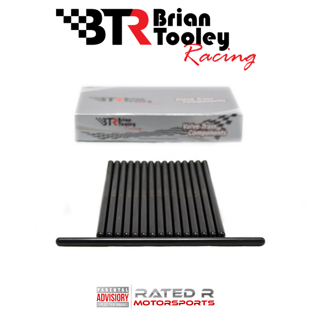 "Brian Tooley Racing Chromoly 5/16"" Hardened Pushrod Set"