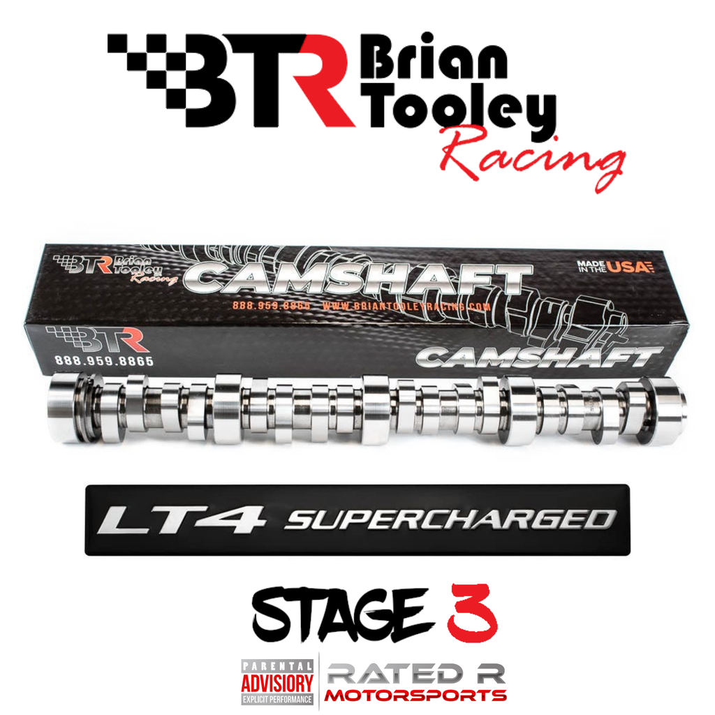 Brian Tooley Racing GM Gen 5 LT1 LT4 Supercharged Stage 3 Camshaft