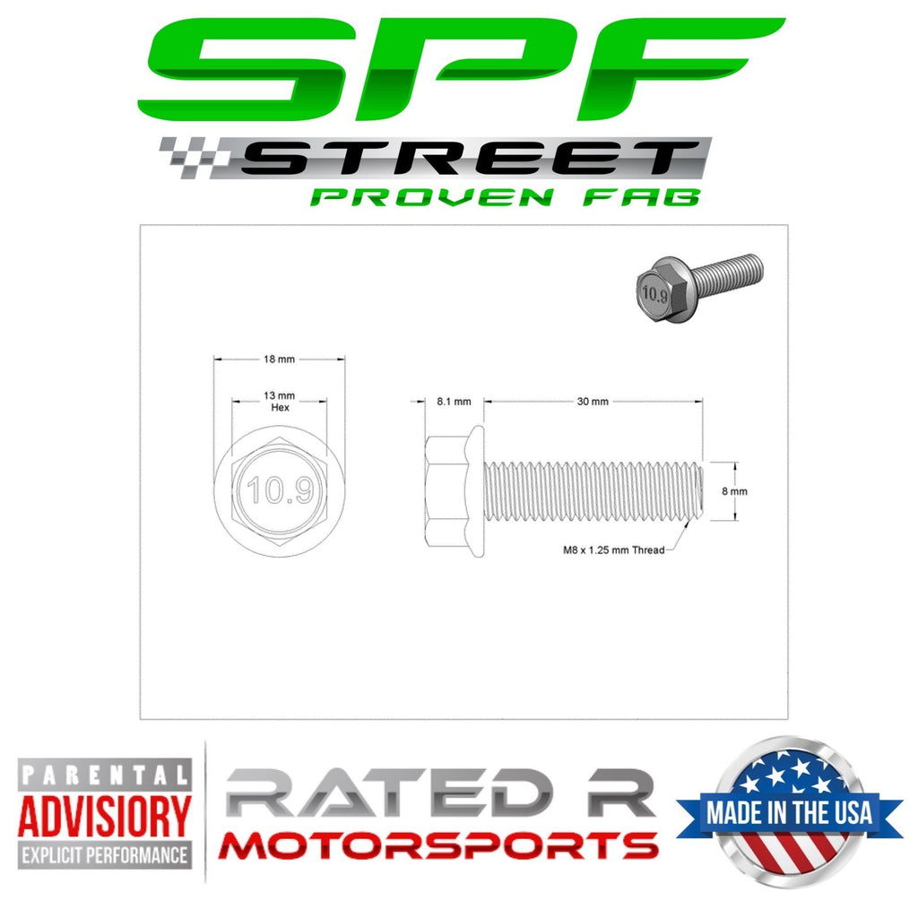 Street Proven Fab LS Timing Cover Bolts Kit