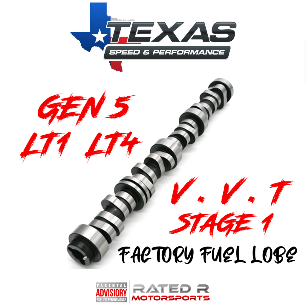 Texas Speed Gen 5 LT1 LT4 6.2L VVT Stage 1 Camshaft Factory Fuel Lobe