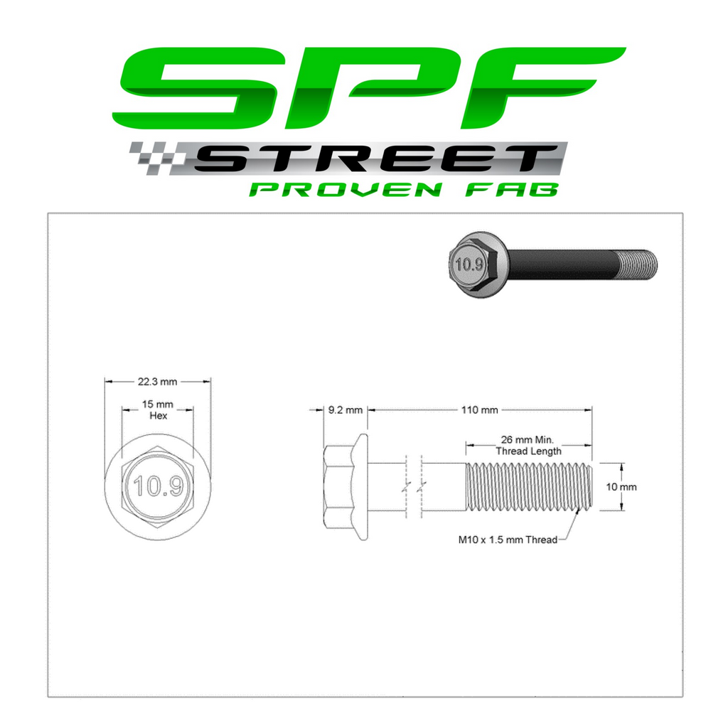 Street Proven Fab LS Gen 3 & Gen 4 Truck Alternator & Power Steering Bolt Kit