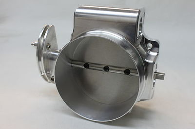 Nick Williams 102mm Drive By Cable LS EFI Throttle Body Natural