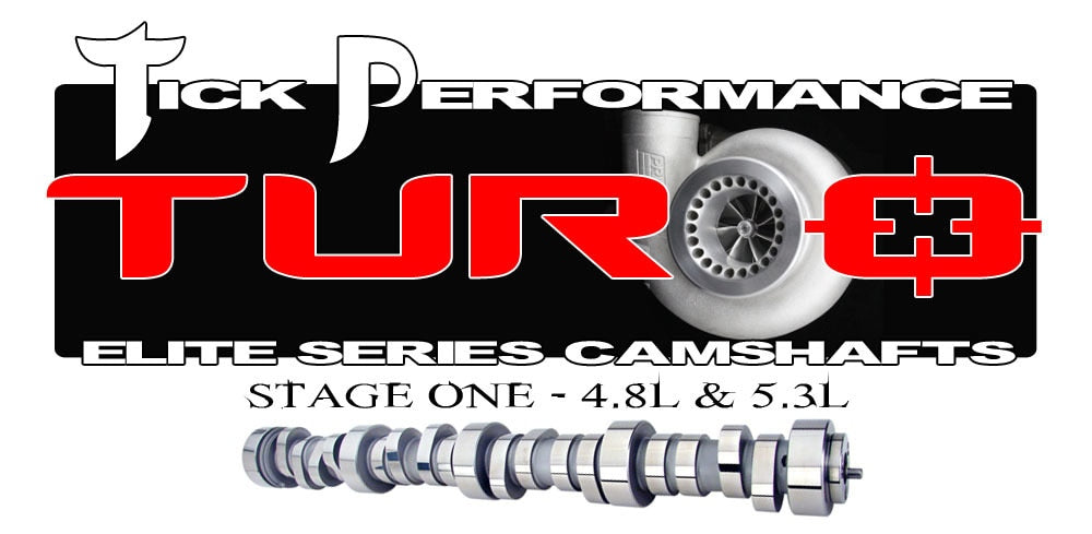 Tick Performance Turbo Stage 1 LS Truck Camshaft