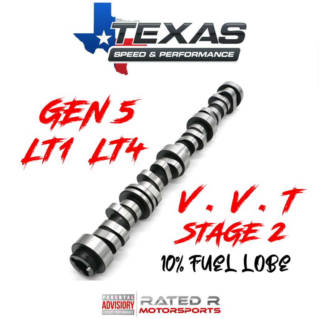 Texas Speed Gen 5 LT1 LT4 6.2L VVT Stage 2 Camshaft 10% Fuel Lobe