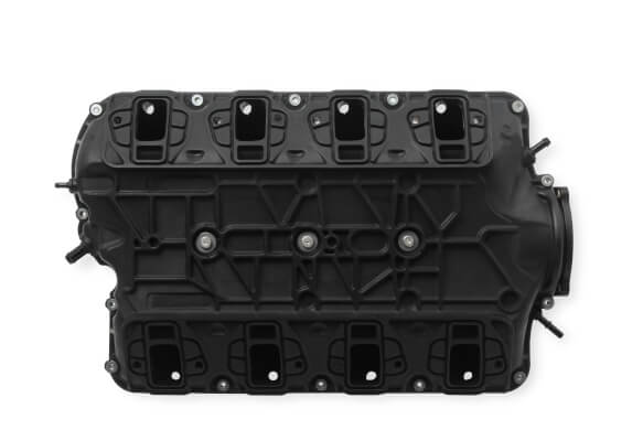 Holley LS1 LS2 Atomic Airforce Intake Manifold Black
