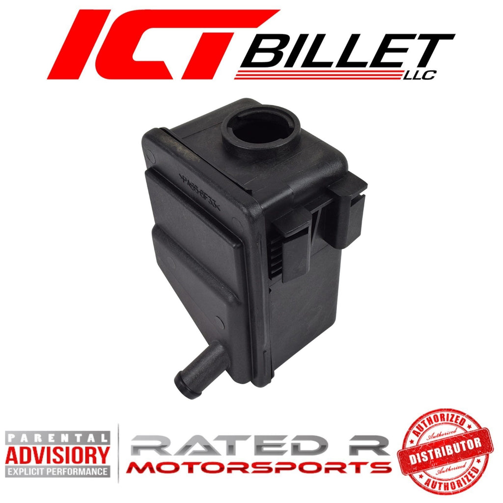 ICT Billet LS AC Delco RESERVOIR Tank Only 1997-2013 Corvette Power Steering Pump