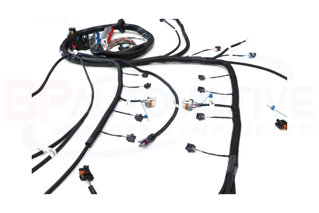 BP Automotive Standalone Wire Harness GM LS 1999-06 DBC With 4L60E (Mini Truck Injectors)