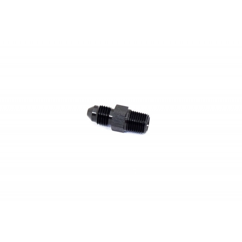 "BTR AN Adapter Fitting -3AN TO 1/4"" NPT Black"