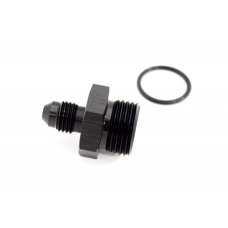 BTR AN to ORB Adapter Fitting -8 ORB to -4AN Black