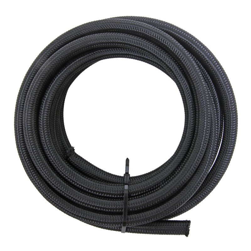 BTR -4an Black Fuel Line Braided Hose