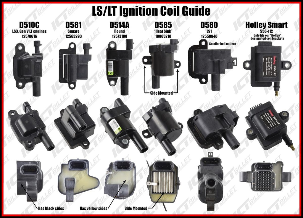 AC Delco OEM GM LS D510C Ignition Coils