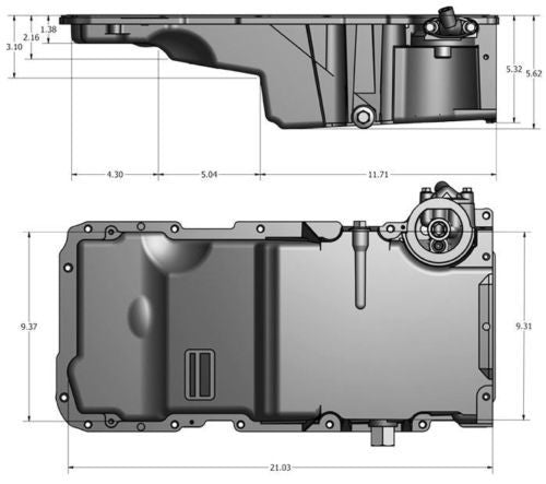 Chevrolet Performance F-Body Oil Pan Kit