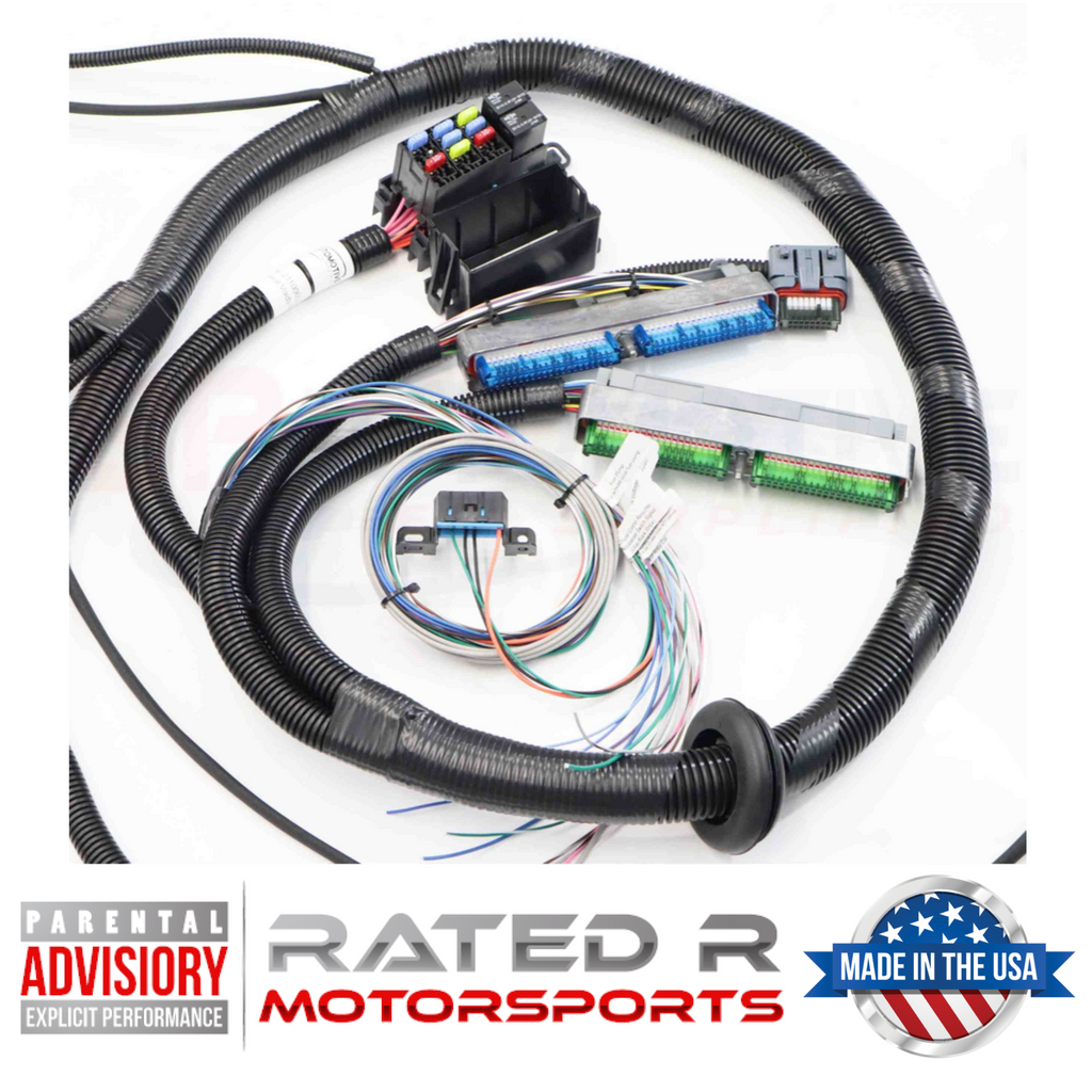 BP Automotive Standalone Wire Harness GM Gen 3 2003-07 DBW With 4L60E (Mini Delphi, Multec 2 Injector)
