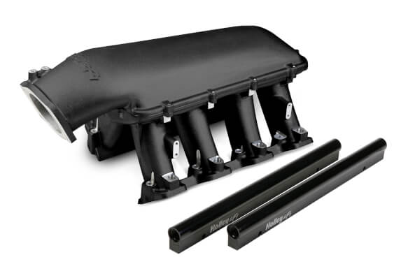 Holley LS3 Hi-Ram 105mm EFI Intake Manifold Black