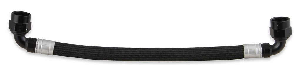 Earls -6an Fuel Line Crossover Hose Black