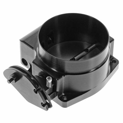 Nick Williams 92mm Drive By Cable LS EFI Throttle Body Black