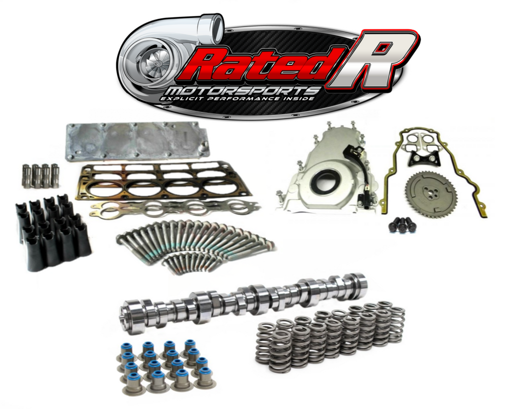 Rated R Motorsports Gen 4 2007-2013 LS Truck Cam Kit & BTR DOD VVT Delete Package