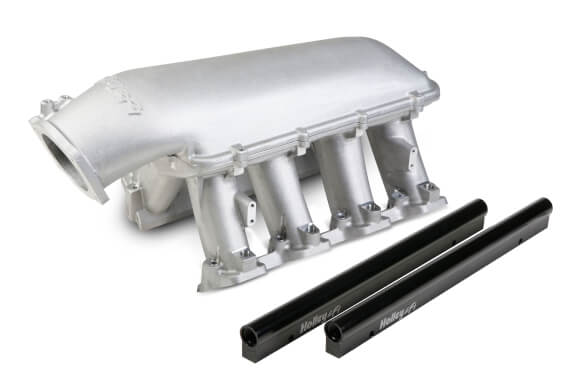 Holley LS3 Hi-Ram 92mm EFI Intake Manifold Satin
