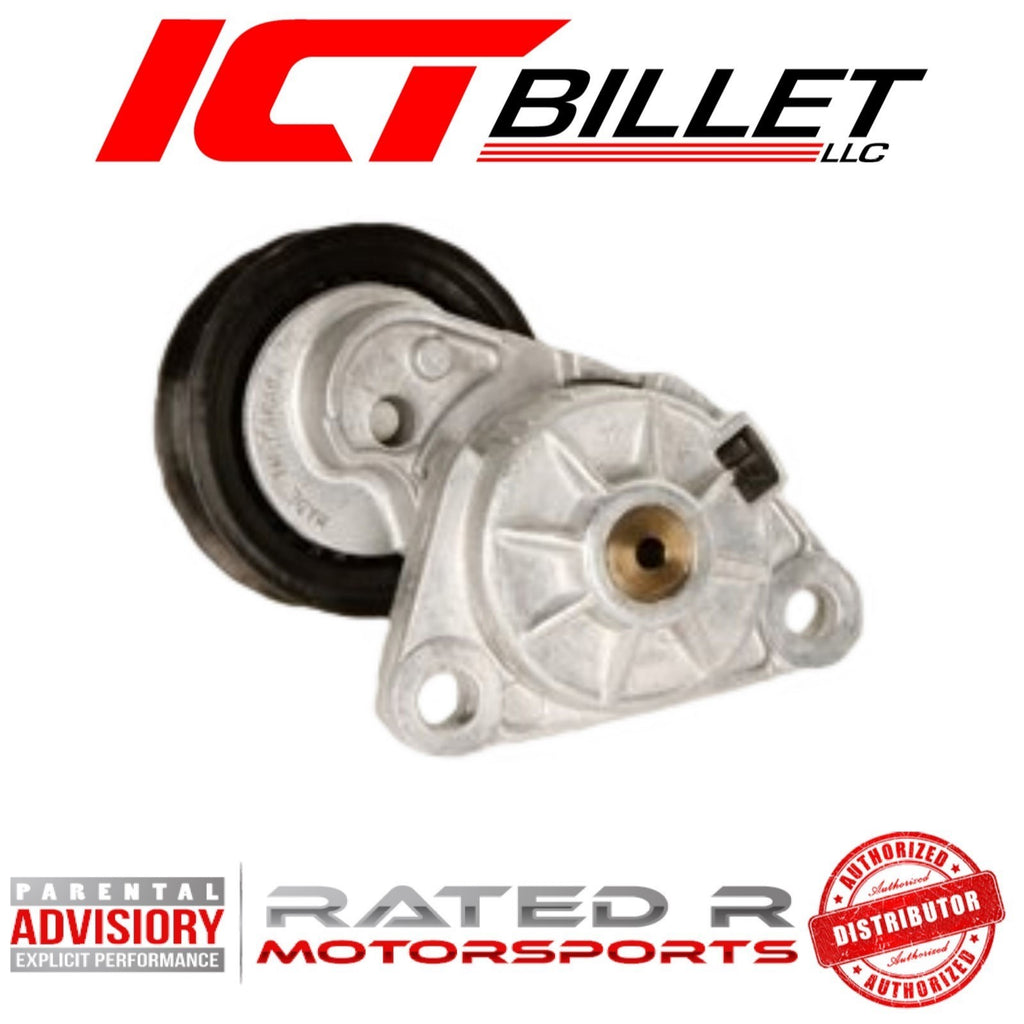 ICT Billet LS Corvette Spacing AC Delco 1997-13 Corvette Drive Belt Tensioner