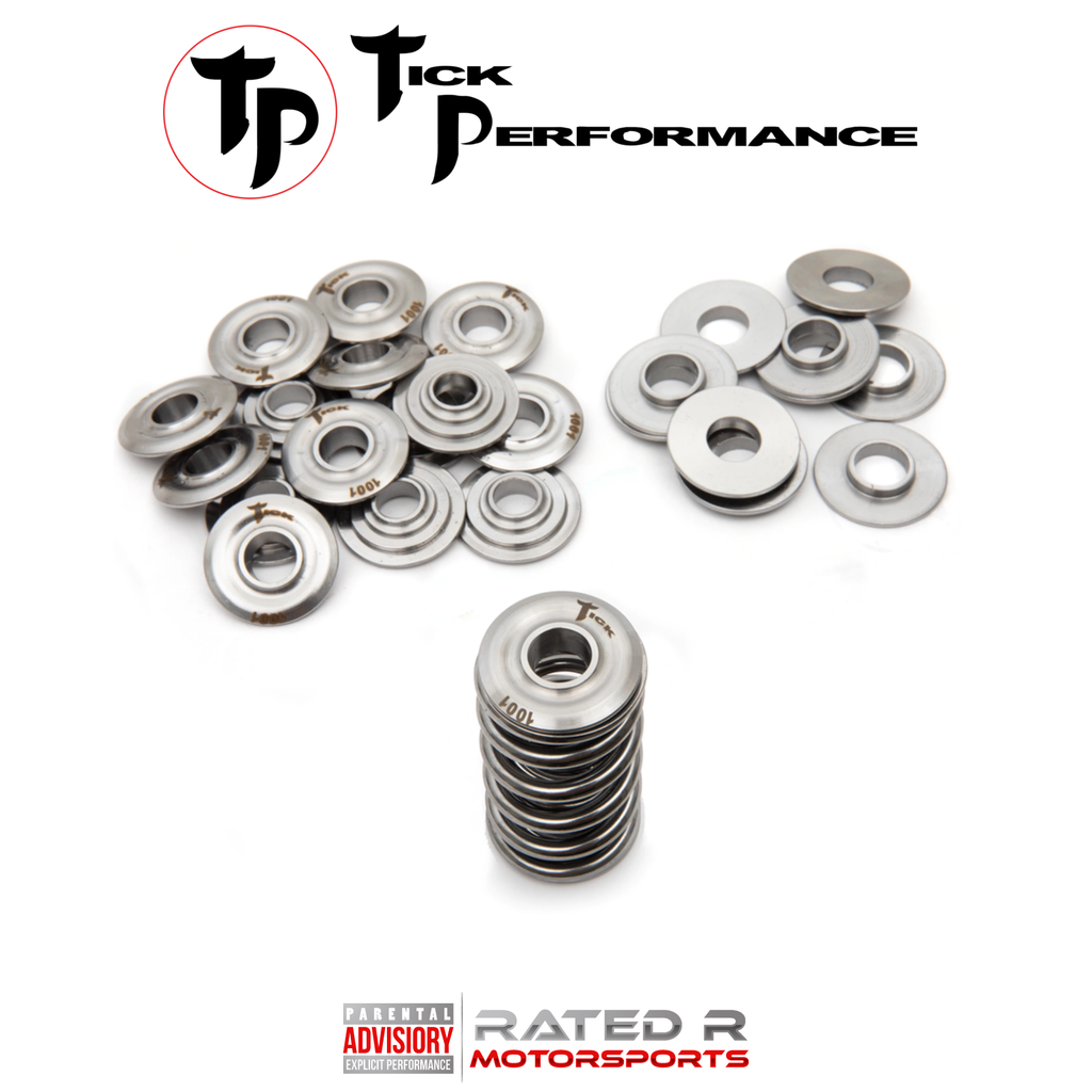 "Tick Performance LS PAC 1208X .750"" Lift Dual Valve Spring Kit Titanium Retainers"