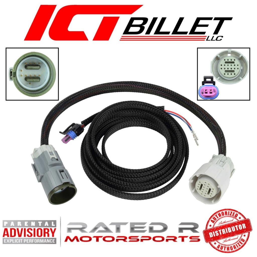 ICT Billet Transmission Wire Adapter Harness 4L60E to 4L80E VSS Breakout Plug and Play