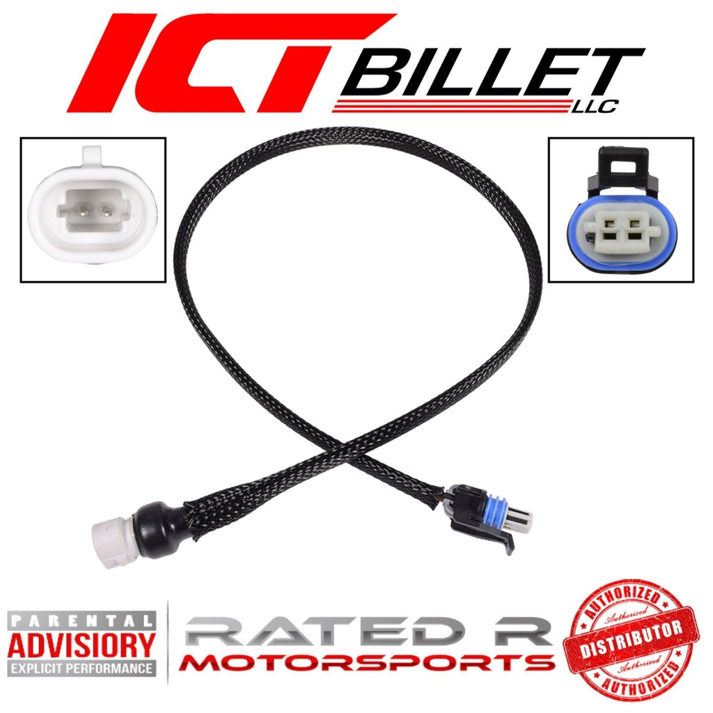 "ICT Billet LS Intake Air Temperature Sensor Wire Harness Extension 24"" Inch"