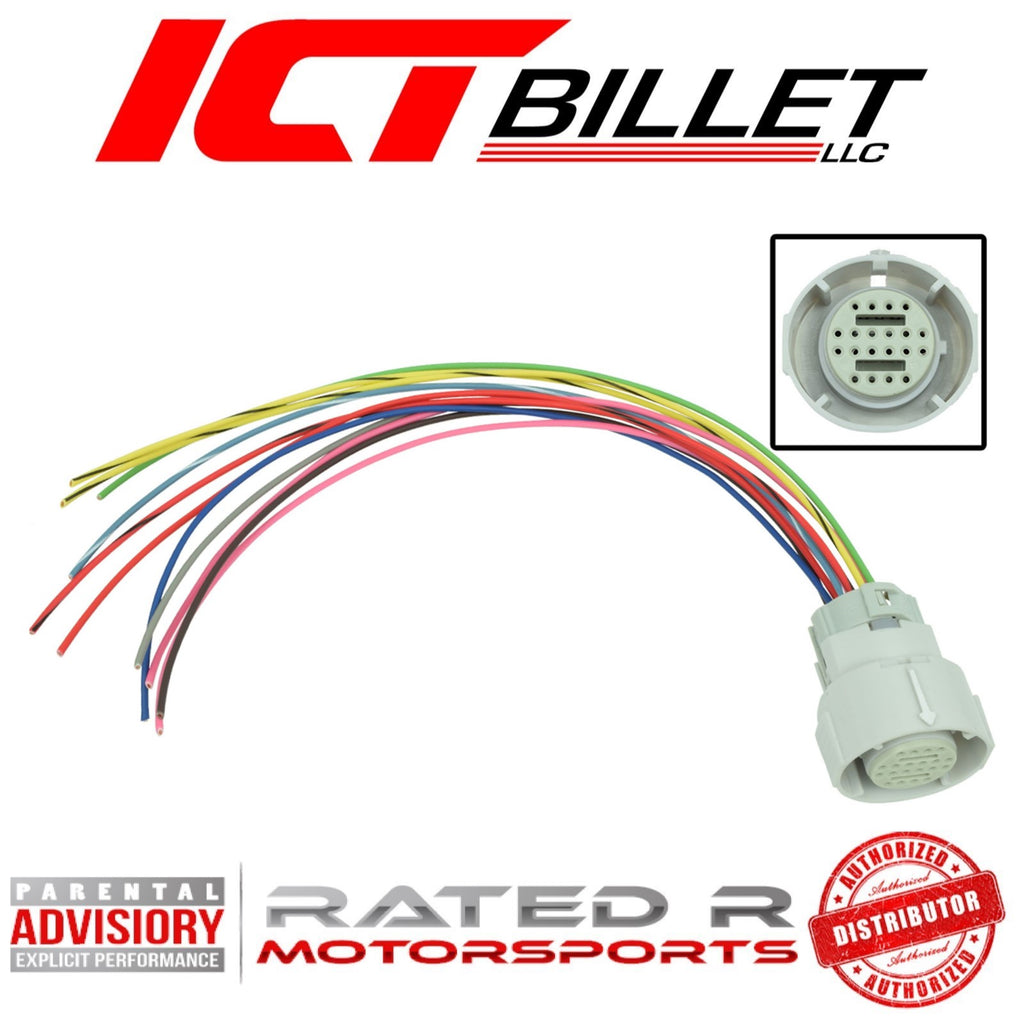ICT Billet 4L80E Transmission Wire Connector Harness Plug Pigtail