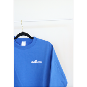 Royal Blue Crew Neck Sweater - The Limitless Company