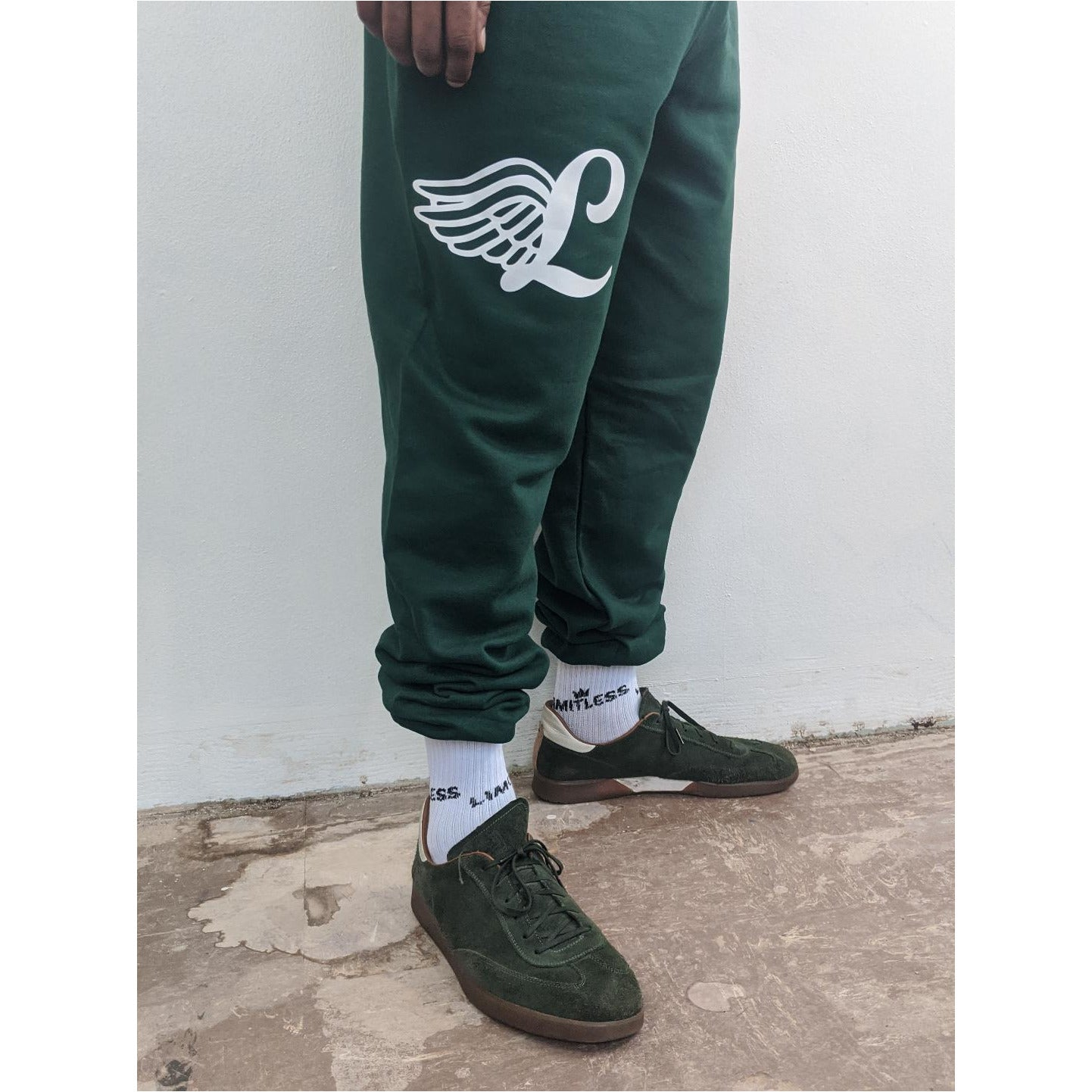 Wings Sweatpants - Green
