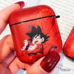 Ultra Thick Soft Silicone DBZ Case with Bag Hook Clip for Airpods