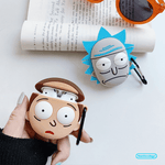 Rick And Morty Silicone Protective Case For Apple Airpods