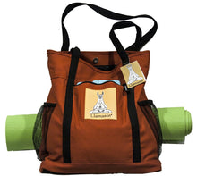 Load image into Gallery viewer, Llamaste Yoga Tote Bag (More Colors Available)