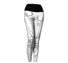 Load image into Gallery viewer, Llamaste-Mania Yoga Leggings