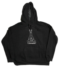 Load image into Gallery viewer, Llamaste Charcoal Hoodie