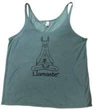 Load image into Gallery viewer, Llamaste Slouchy Tank (More Colors Available)