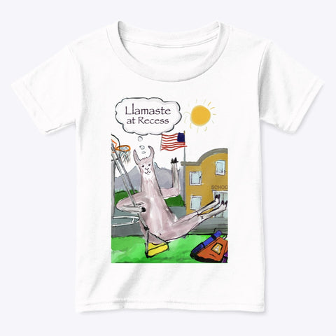 Llamaste at Recess - Toddler T-Shirt