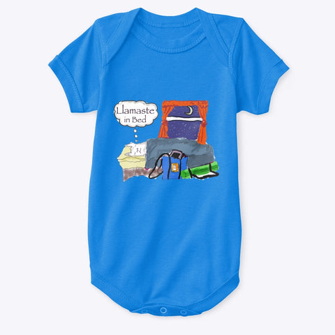 Llamaste in Bed - Baby Onesie