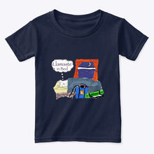 Load image into Gallery viewer, Llamaste in Bed - 100% Cotton Toddler T-Shirt
