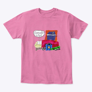 Llamaste in Bed - Kid's T-Shirt