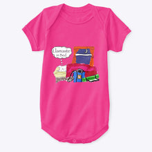 Load image into Gallery viewer, Llamaste in Bed - Baby Onesie