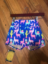 Load image into Gallery viewer, *LIMITED EDITION* Llama High Waisted Women's Yoga Shorts