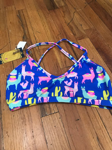 *LIMITED EDITION* Women's Llama Yoga Sports Bra