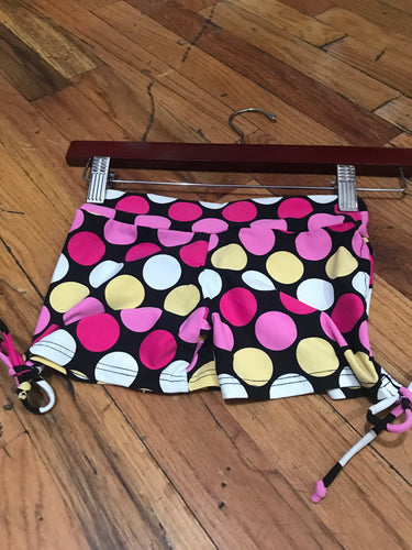 Llamaste Kids Stretch Pattern Yoga Shorts for Girls